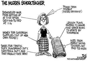 modern schoolteacher