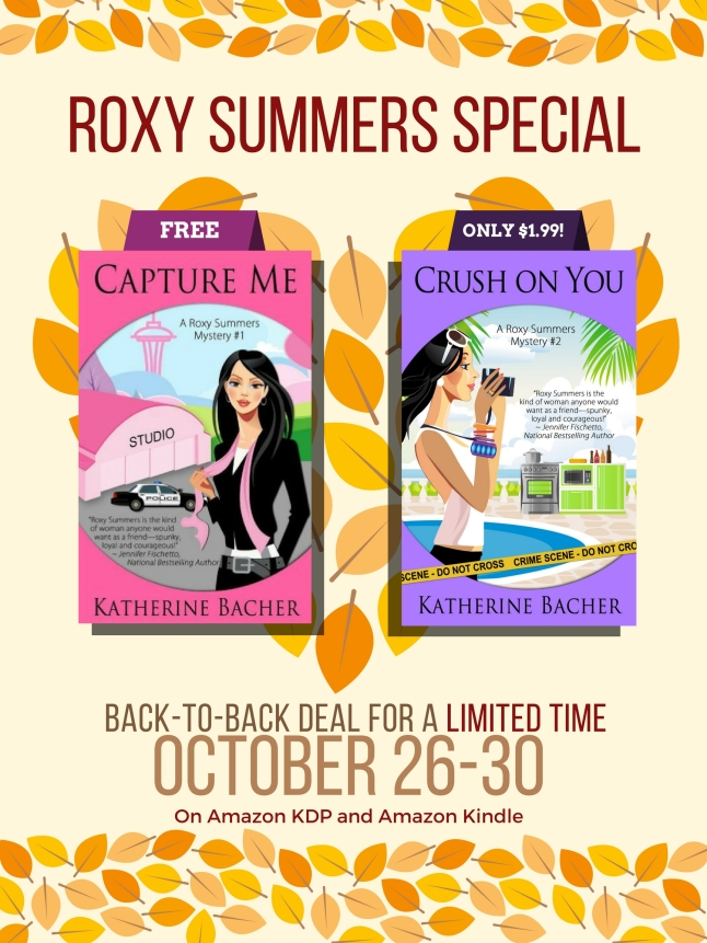 Special Sale from Oct  26-30 – Capture Me is FREE, and Crush On You